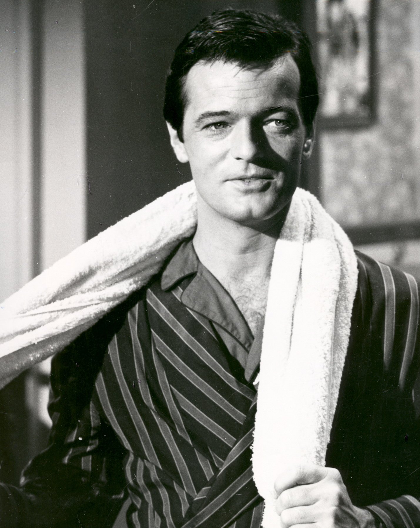 "Robert Goulet in movie ""I Deal In Danger"""
